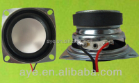 54*54mm 4ohm 4w speakers and loudspeaker