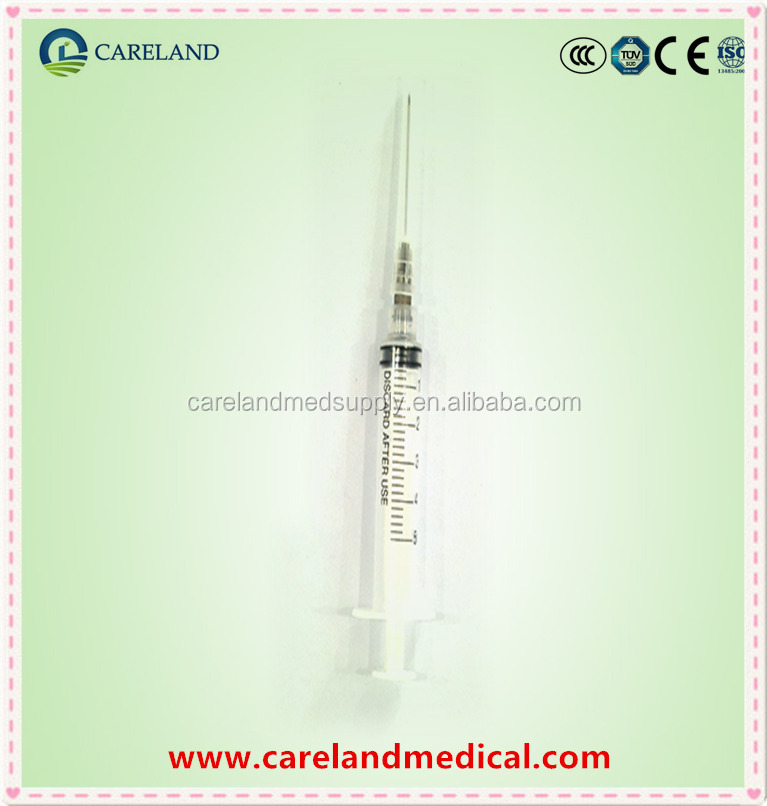 5ml disposable sterile syringe with needle
