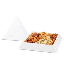D780 Pyramid shape melamine candy box plastic food container