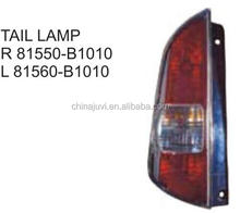 High quality car accessories TAIL LAMP For Toyota PASSO 2004-2006 OE:81550-81010 81560-B1010 81550-81040 81560-B1040 81560-B1080