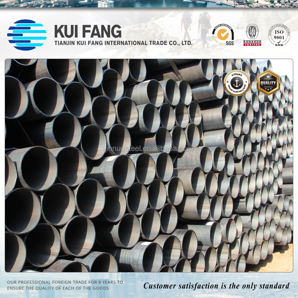 China manufacturer mild water 8 inch steel pipe
