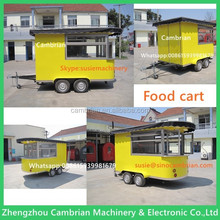 Solar energy mobile kitchen trailer with advanced design