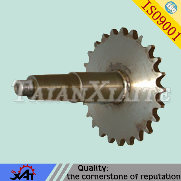 High strength alloy steel roller chain sprocket for mining machinery OEM service