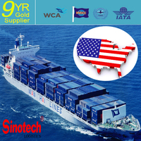 china shipping consolidator container shipping LCL/FCL to SAN FRANCISCO