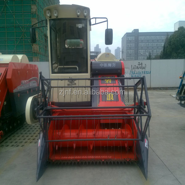 Bilang 4LZ2.5 grain harvester, farm machine paddy rice cutter