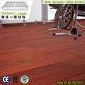 15mm Cherry Wood Color Matt Finish vertical wire brushed bamboo floor products hot sale 2013