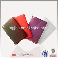 0.85mm colorful plain pc case for ipad mini 2