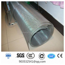 SS302 304 316 316l Plain Weave High Density Stainless Steel Wire Mesh (Factory, SGS Certificate)