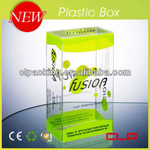 New high quality clear hinged lid plastic boxes