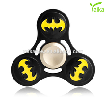 Yaika Hot Coloful metal Batman Resident Evil serial sision Pressure Relief Fidget Tri-Spinner Hand Fidget Spin Toy Hand Spinner