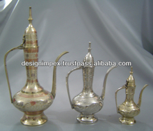 Brass Aftaba set of 3 pcs