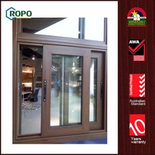 Factory sale various customized 2 track pvc sliding window