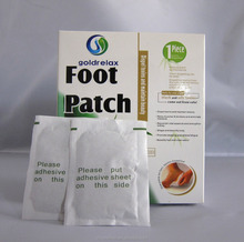 natural ingredients bamboo vinegar detox foot patch