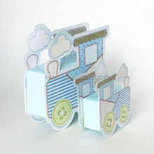 Train Candy Box Baby Shower Favors Baptism Nursery Christening Party Gift Box S