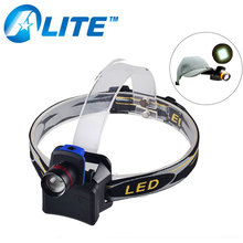 Wholesales takedown clip-on cap hat LED hiking headlight zoomable camping light headlamp
