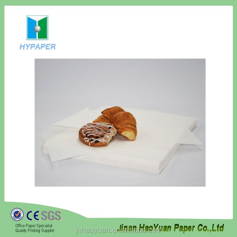base paper grease proof paper in roll