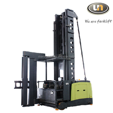 Warehouse Equipment 1.5T Electric Narrow Aisle Reach Truck For Material Handling
