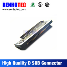 Wholesale Solder D-SUB DB Connector 37pin Male China Supplier