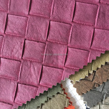 Embossed upholstery living room sofa pvc artificial leather, 0.7mm PVC artificial Leather Automobile Car Seat upholstery