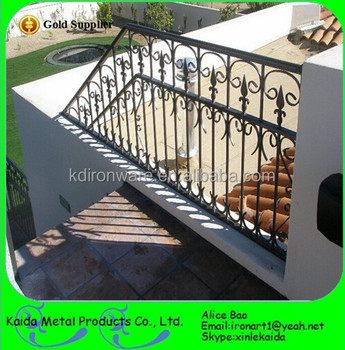 Solid U0026 Steel Stair Material Outdoor Iron Stairs And Iron Stair Railings