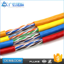 Conductor OD 0.52mm / 0.54mm / 0.56 / 0.57mm 23AWG cat6 utp wire lan network cable