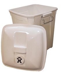 Odorless Cloth Diaper Pail 14 gallon: multiple children or 2+ days