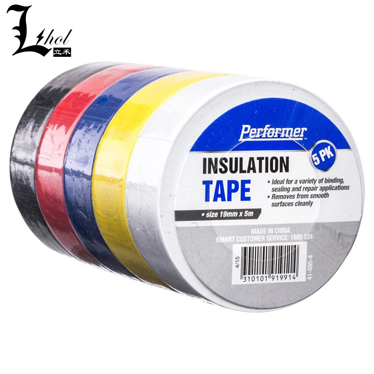 PVC Electrical Insulation Tape 10 Meter Long Insulation Tape