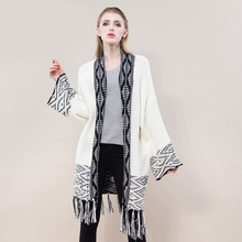Free sample Ladies sweater/ cardigan series supplier 60% cotton+ 40% acrylic thick sweater fabric winter women coat