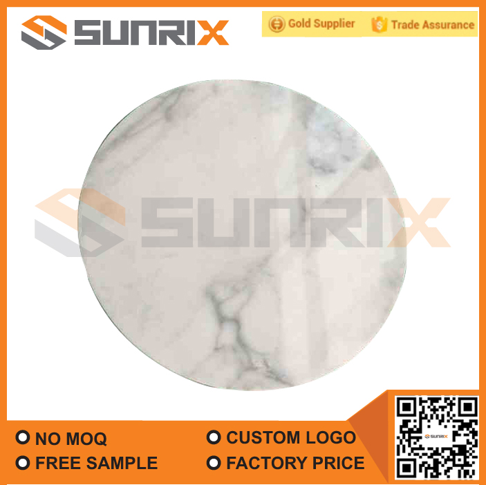 High Heat Resistant Round Marble Hot Plate
