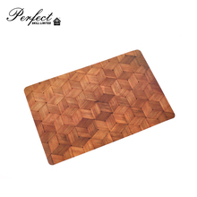 Wholesale high end eco-friendly cork plastic placemat