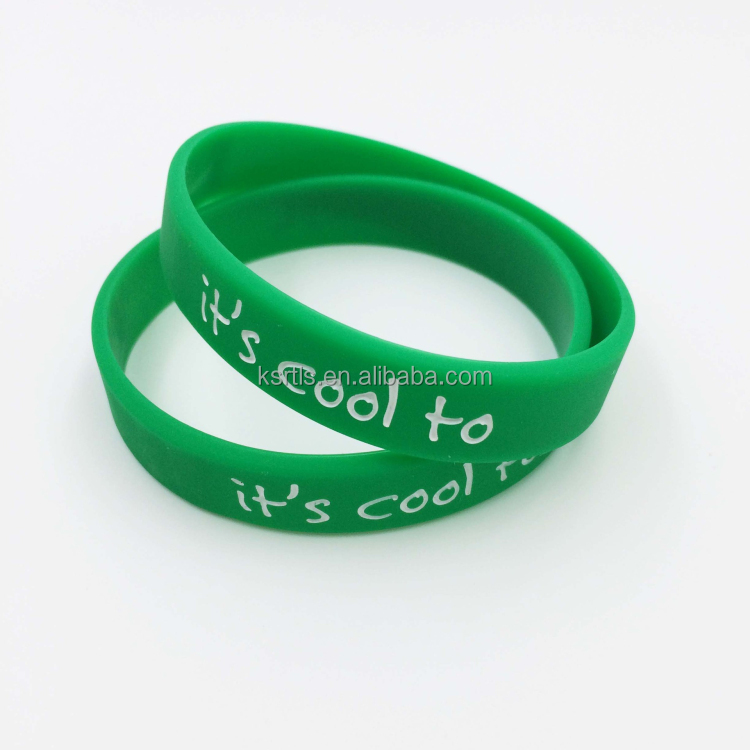 camouflage color-filled silicone bracelet cool fun silicone bracelet rubber band