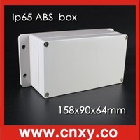 wholesale online ip65 waterproof abs box junction box 158*90*60mm with fixed ears