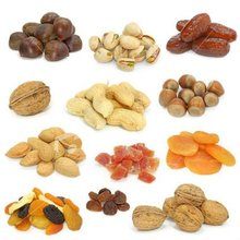 Green Raisins, Red Raisins, Almonds, Walnuts, Cashew, Pistachio, Jalghoza(Pinenut seeds)