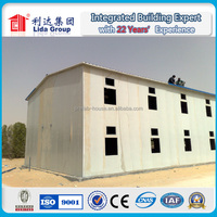 Building Site Low Cost Steel Frame