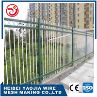 best price field barbed wire chain link zinc steel fence