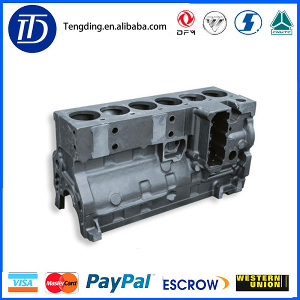 4946152/5260558 dongfeng diesel engine 8.9L cylinder block lc135