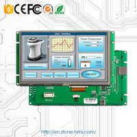 7 inch 800X480 display monitor with PCB board/Driver/CPU/Flash Memory/Program and command set