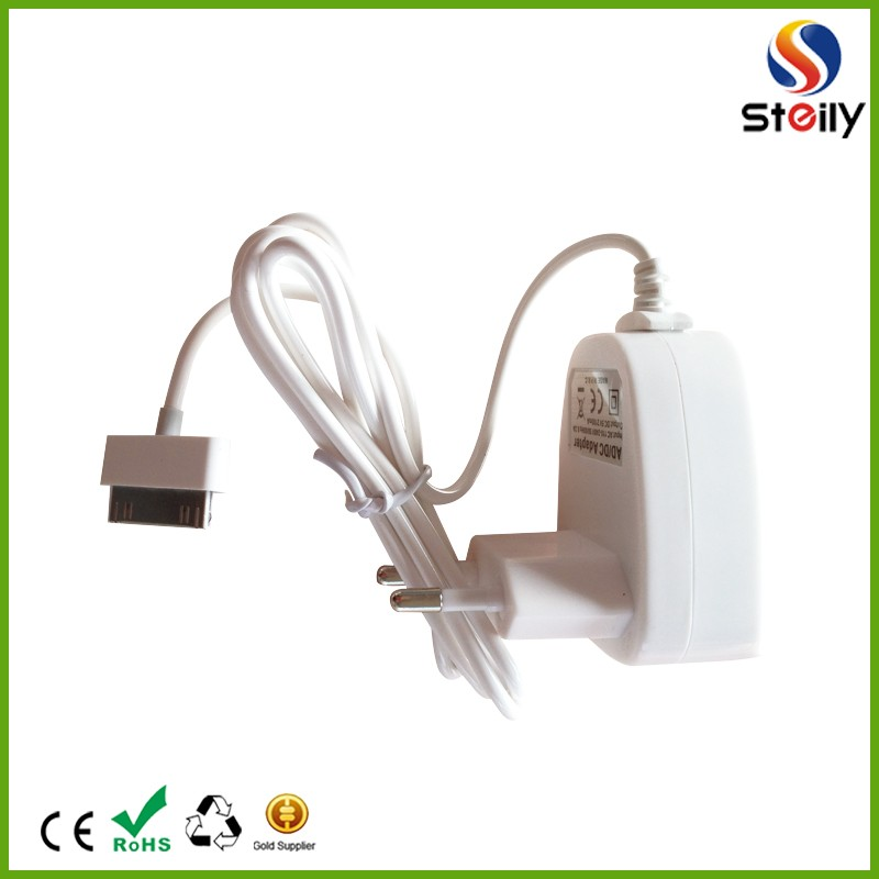 hot sale 5v /2.1a UK/EU usb wall charger, home charger wall charger with cable for smartphone