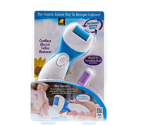 Electric Callus Remover - Remove Dead, Hard, Cracked Skin and Reduce Calluses on Feet in Just Seconds - Spa Like Results