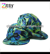 2014 Floral 5 Panel Hat/Cap For Girls