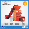 plastic pallet QTJ4-26 small scale brick making machine manual brick making machine south africa