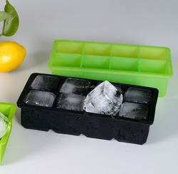 High Quality Dishwasher Safe lego silicone ice cube tray