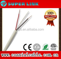 2017 Superlink Wholesale rj11 telephone wire 28awg flat cable made in china