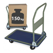 Folding platform truck moving push hand truck 330lbs load capacity