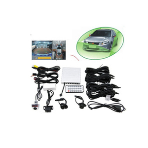 Super HD 720p 360 Degree All Round Around View Car Camera Systema Car Side Bird View System With Super Night Vision