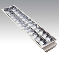 SL106A136 wall mounted unbreakable grid fluorescent lighting fixture