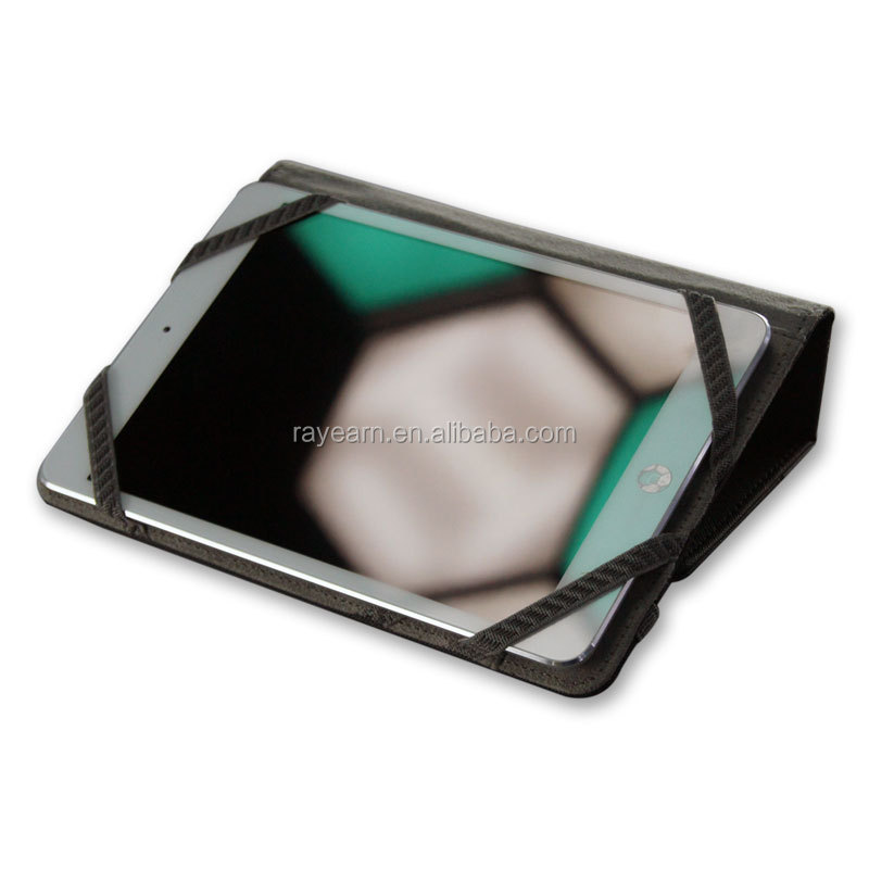 Classic PU Leather Universal 7 inch tablet case has a pocket inside and with Standing funciton