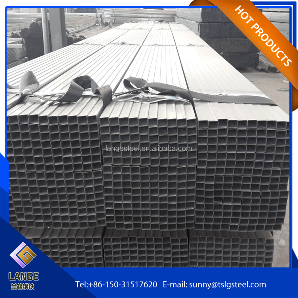 galvanized square tube special section steel pipe price!20*20 galvanized steel tube