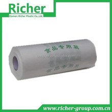 clear plastic freezer bags on roll