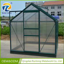 Factory Price Low Cost Hot Sell Home Plastic Garden Shed Professional Greenhouse Used Equipment